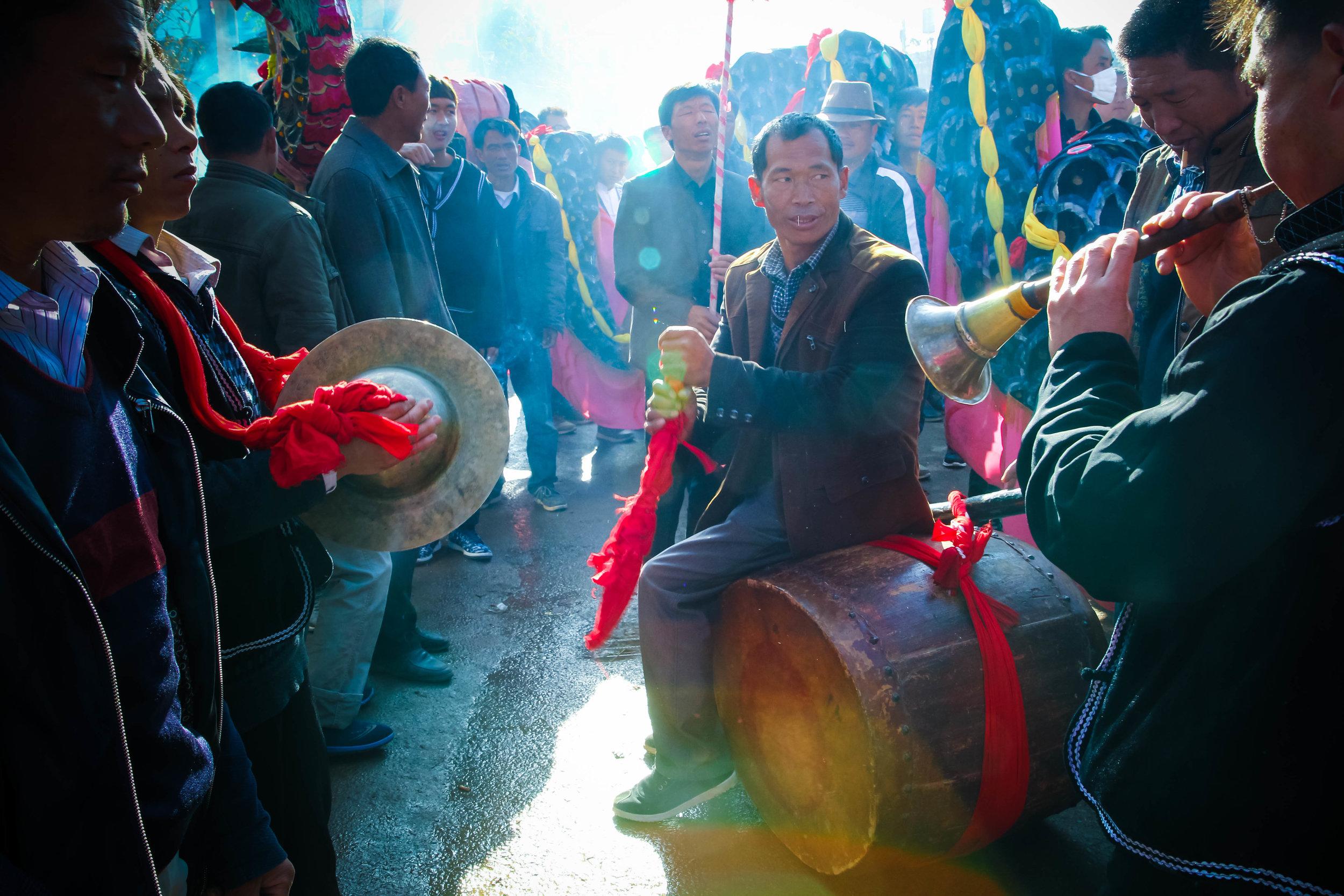 Buddhist Ceremony - Li Jiang, Yun Nan Province - People's Republic of China