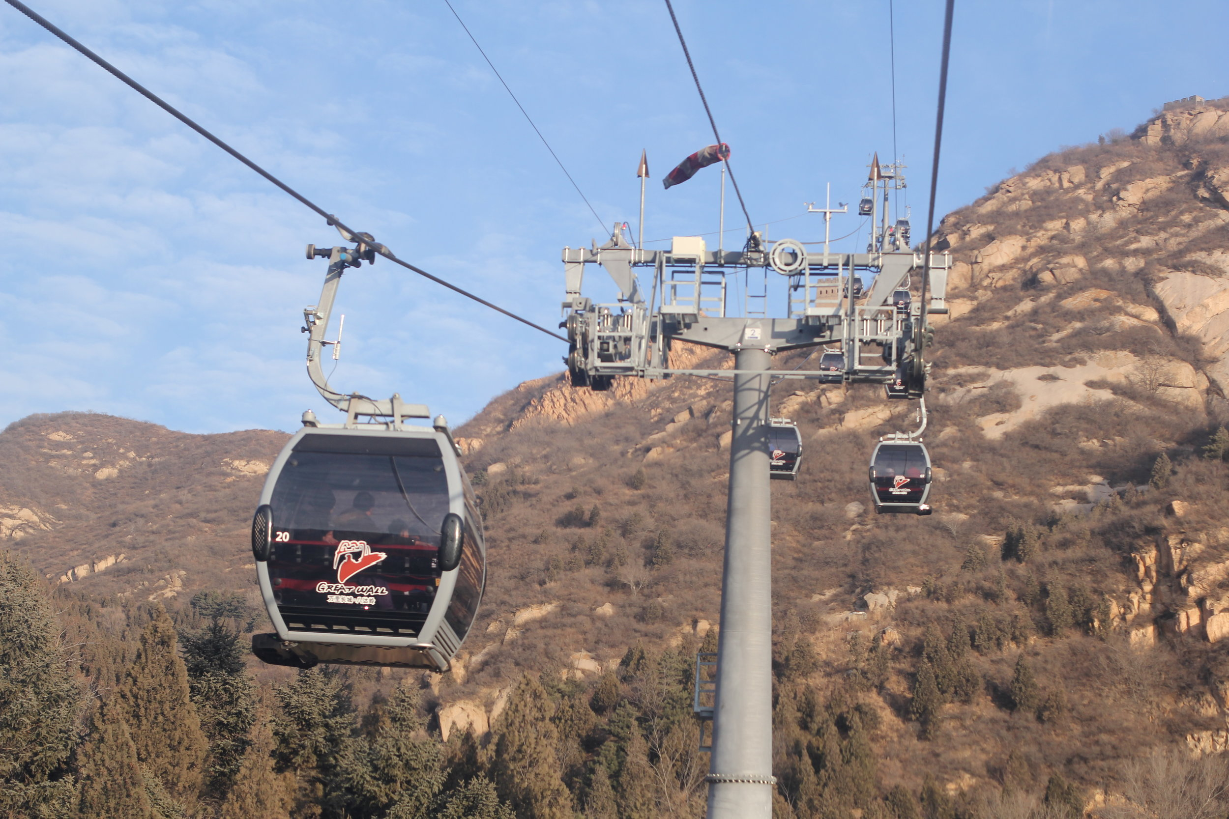 The Great Wall of China Lift