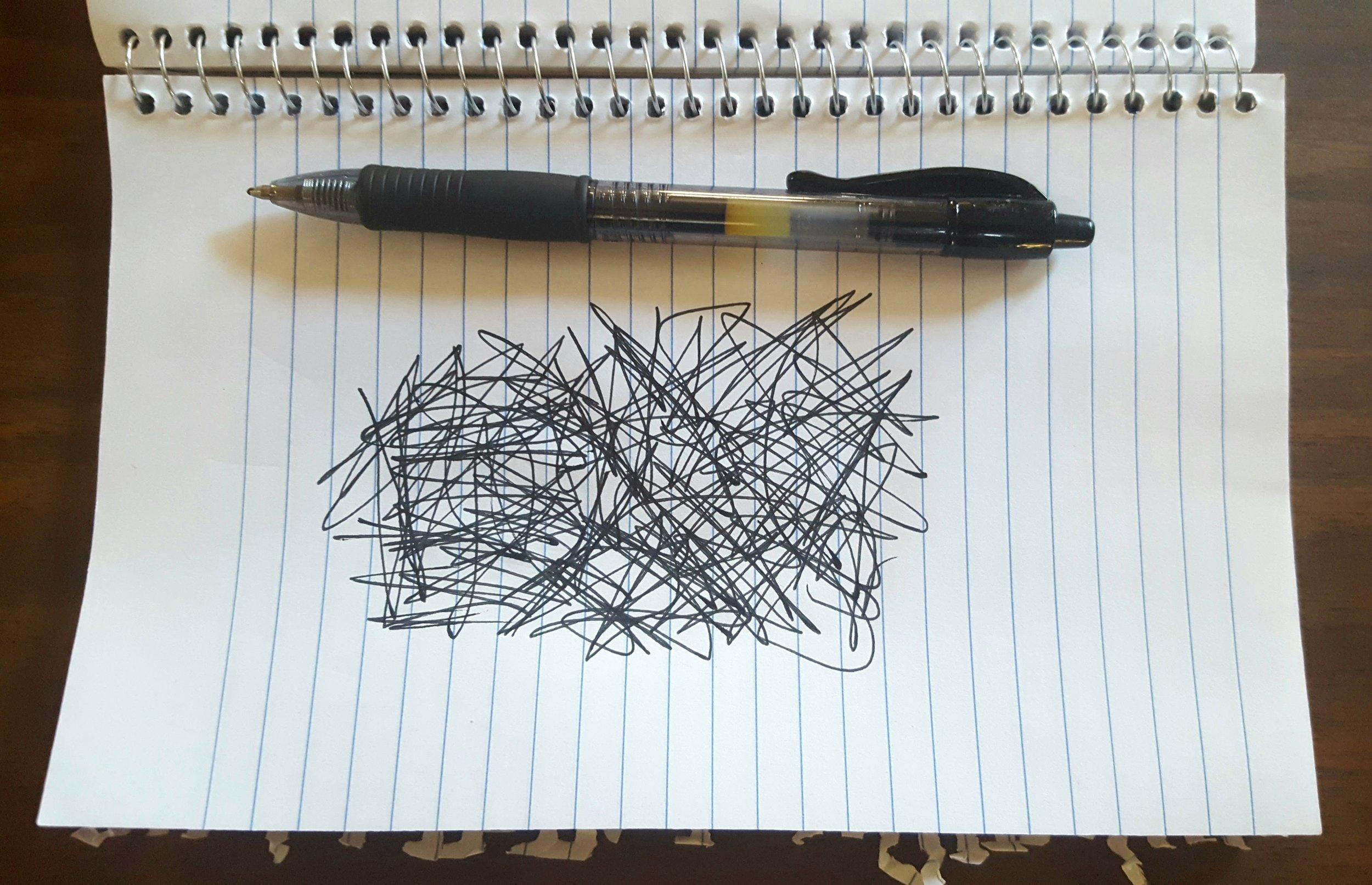 actual scientific diagram of my brain