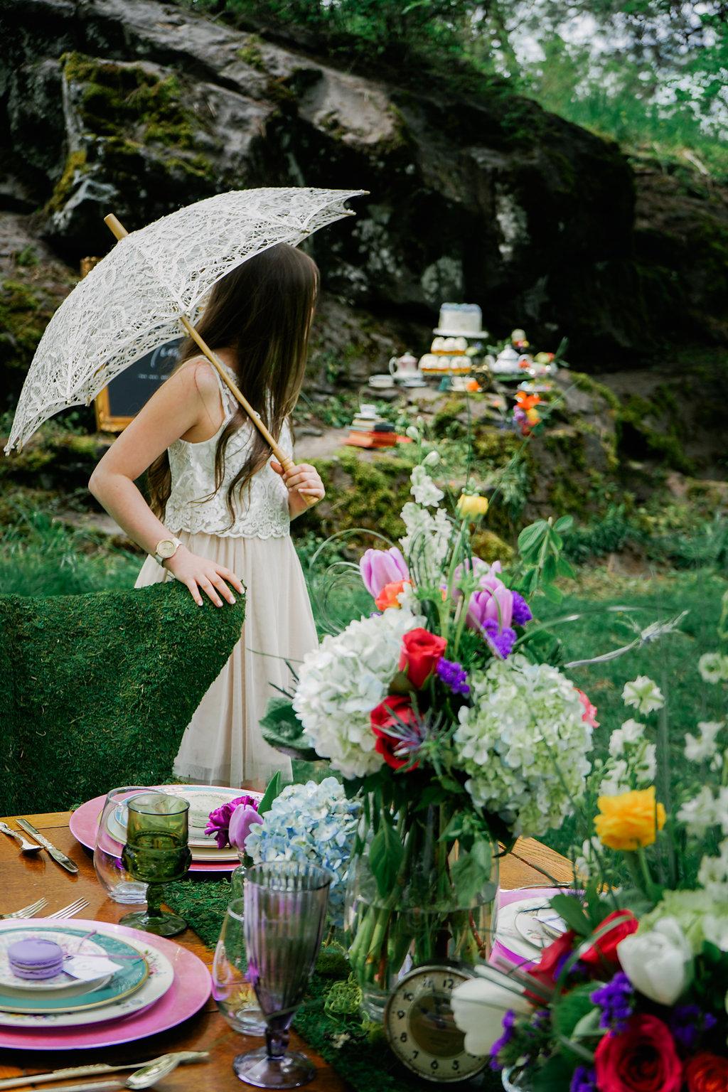 bloom & design styled photoshoot
