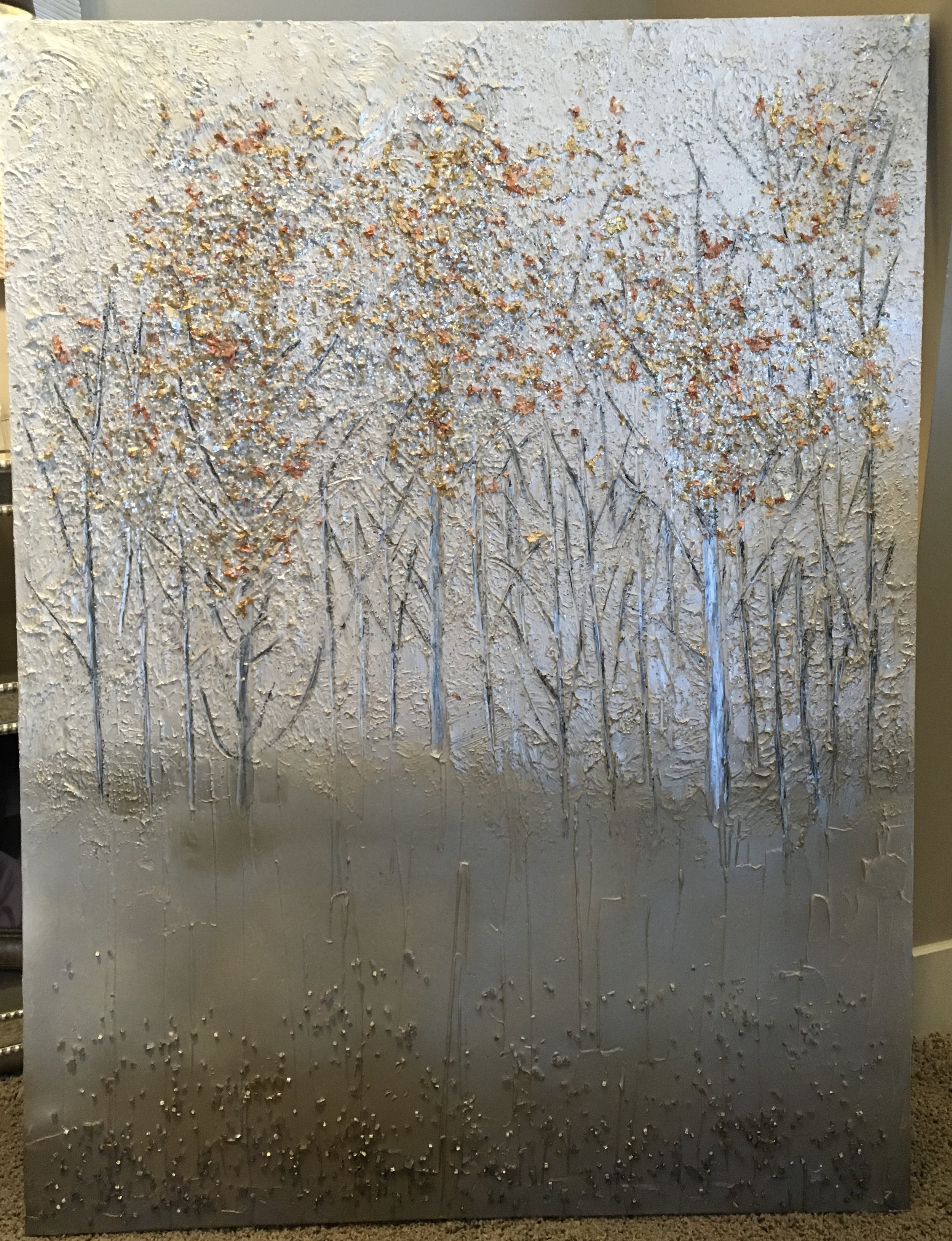Part of the Tranquil Collection, these contemporary trees remind one of the beautiful aspens whispering their secrets.