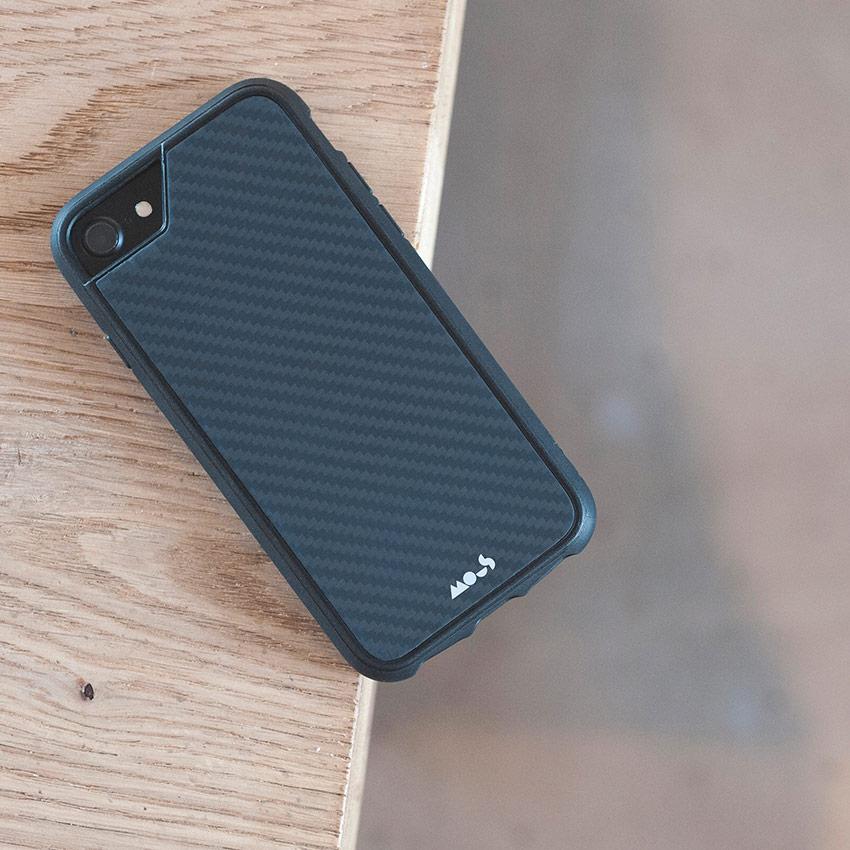 Carbon Fibre Mous iPhone Case Frillstash