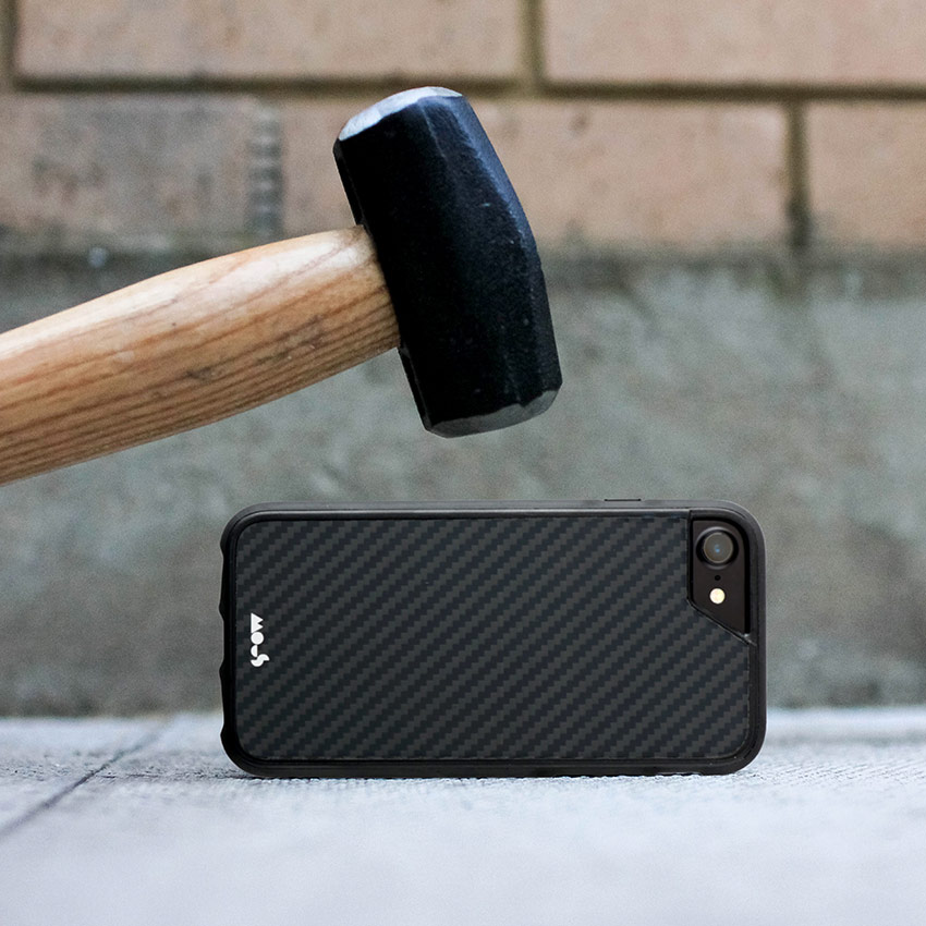 Black Aluminium Mous Case iPhone 7 Hammer Frillstash