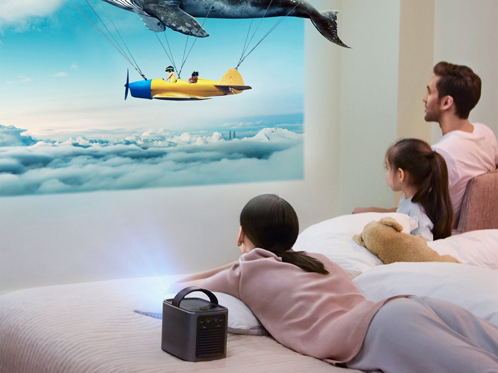Nebula Mars Portable Projector - Take your home cinema with you while traveling.