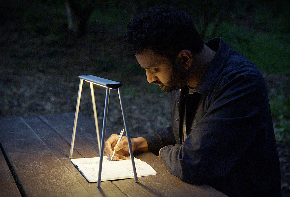 Mesa Portable Light   The handy and foldable light, take it everywhere with you.