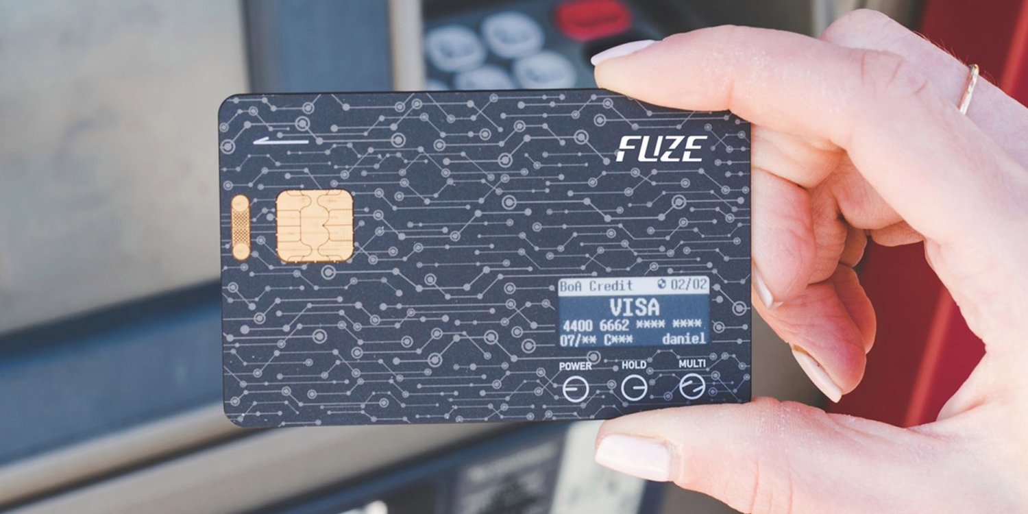 Fuze Card   Replace your whole wallet with one card.