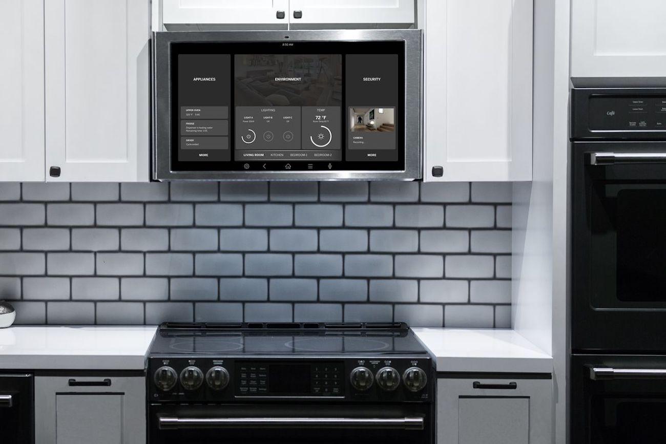 GE Appliances Family Hub Kitchen Tablet Frillstash