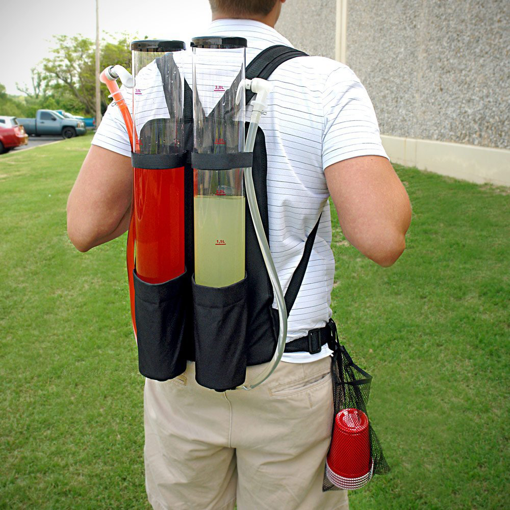 Double End Tailgater - Never let anyone leave the party not tipsy. You could be the hero of the party wearing this one.