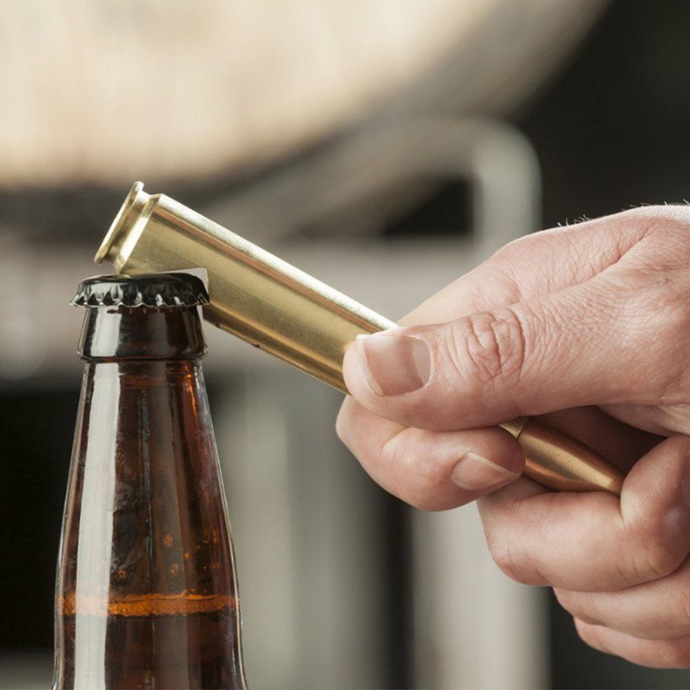 50 Caliber BulletBottle Opener - A real bullet that was once fired made into a bottle opener.