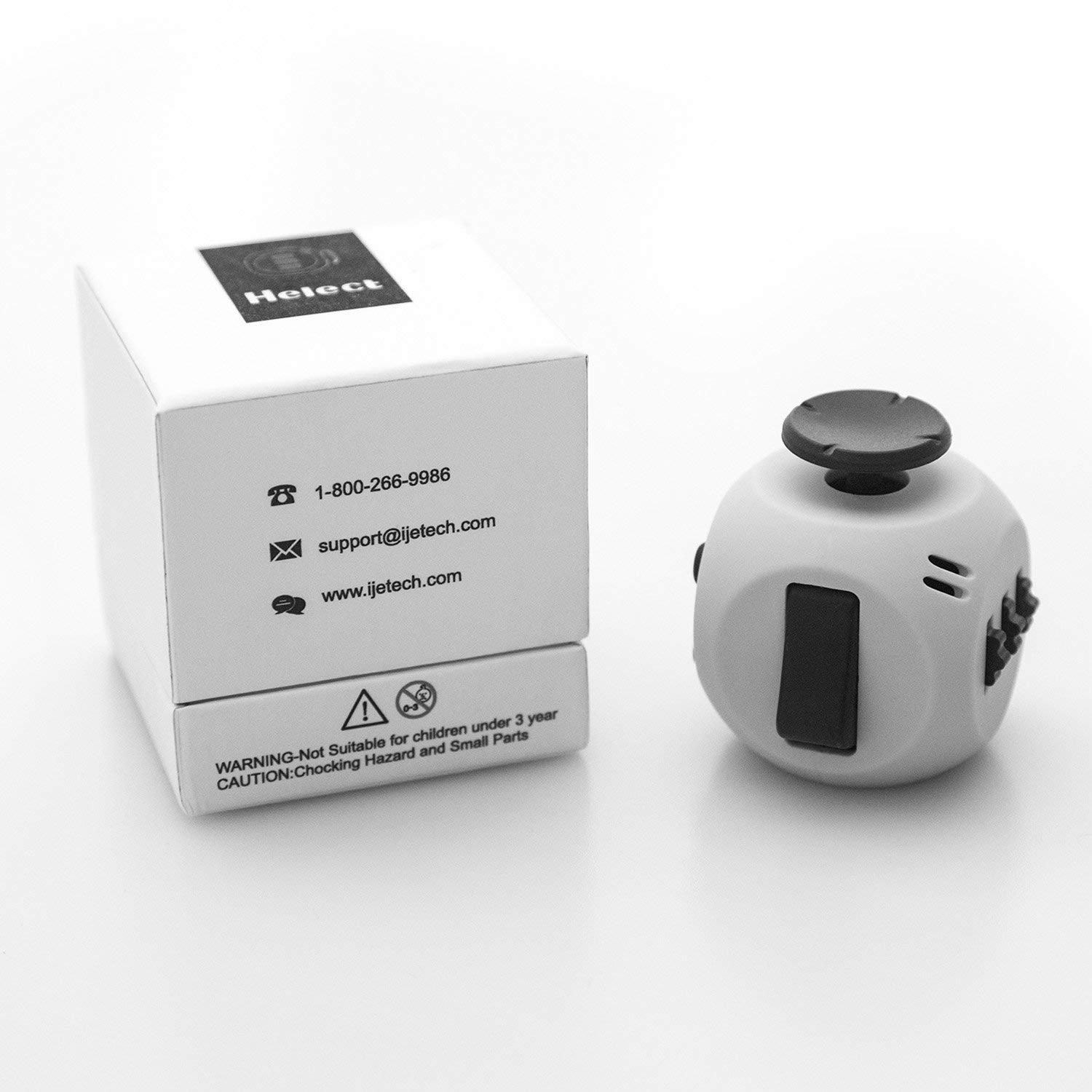 Fidget Cube - Helps increase focus and improves productivity while working.