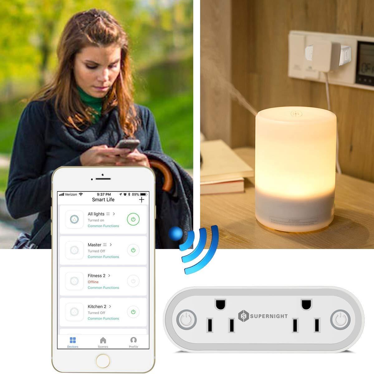 supernight wifi smart socket frillstash