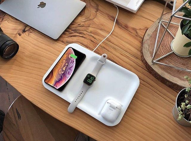 Power up all your apple products in one setting.
