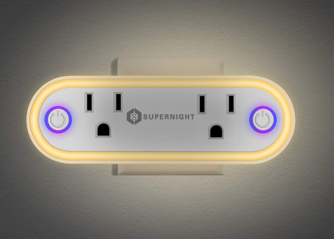 Supernight Smart Outlet   Take total control of your outlets using your smartphone.