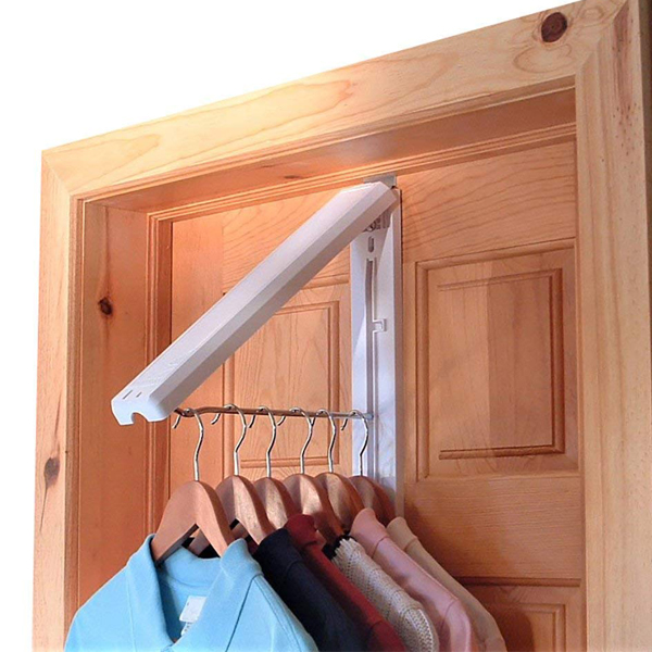 Instahanger - Easy to carry foldable rack with the aim to keep your clothes in organize in one place. Hangable in your car, room or anywhere you can clip it.