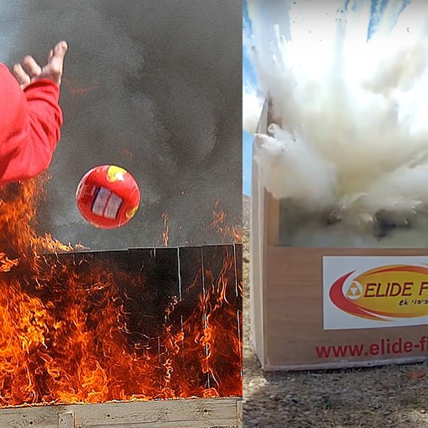 Elide Fire Ball - Always safe to have the Elide Fire ball ready incase of sudden wild fire.