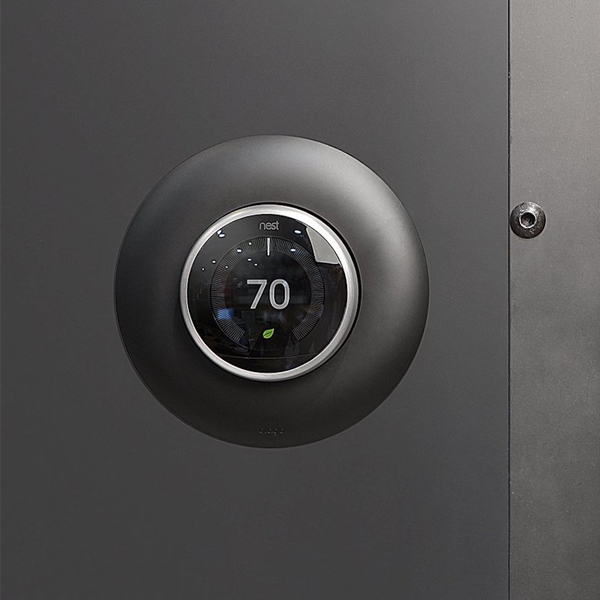 Nest Thermostat - Saving you from expensive energy bills. The 3rd generation is sleeker and has crisp visuals. It easily adapts to your day to day habits.