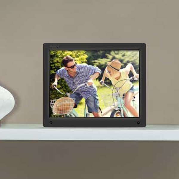 Digital Photo Frame - A cool digital frame that has an built-in 10gb storage. Can also play videos with audio from you USB. This is a good gift for a person who has everything.