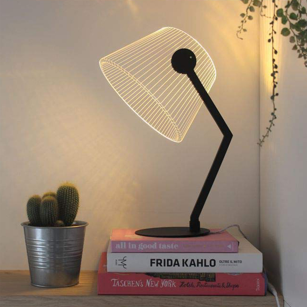 LED Table Lamp - An eye-catching modern lamp that can add more beauty in your home aesthetic.