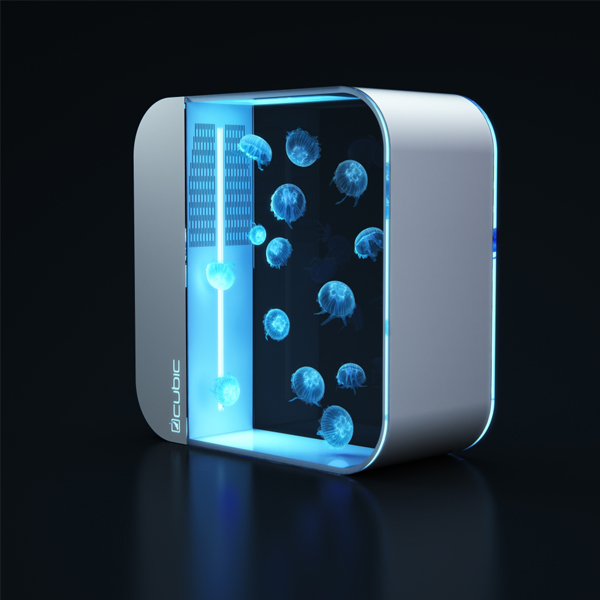 Pulse 80 Jellyfish Aquarium - Nothing is more relaxing than big aquarium with glowing jellyfish.