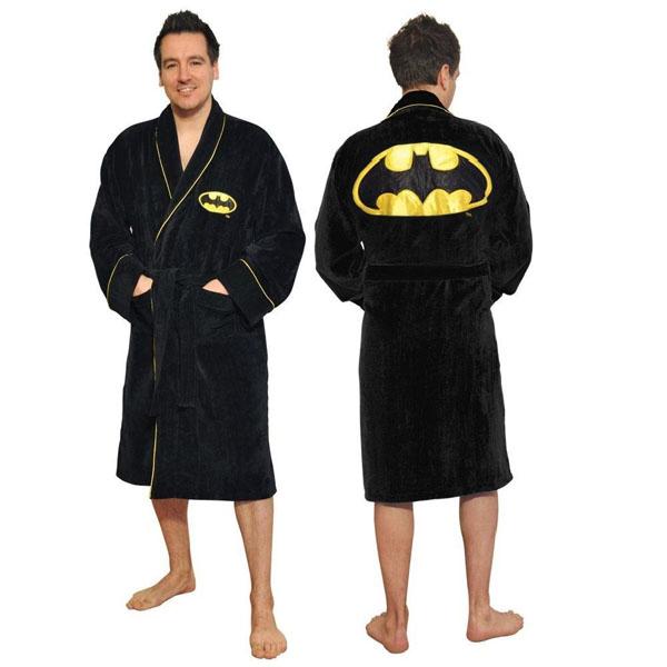 Batman Bathrobe - 100% Cotton iconic batman bathrobe.