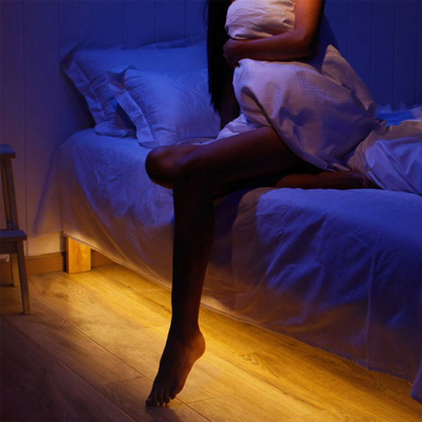 Motion Bed Light - Every time it detects a movement it automatically turn on and turns off after.