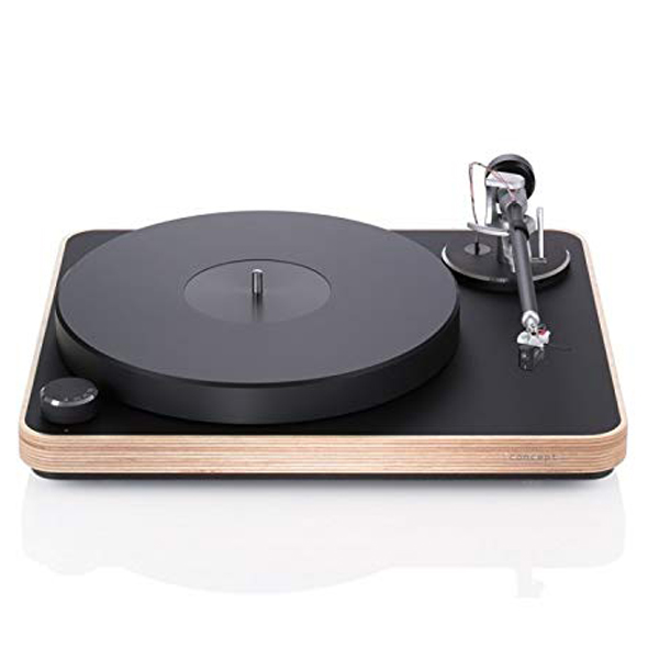Clearaudio Concept Wood - Nothing beats the pleasure of listening to vinyl disc and crystal clear sound of the turn