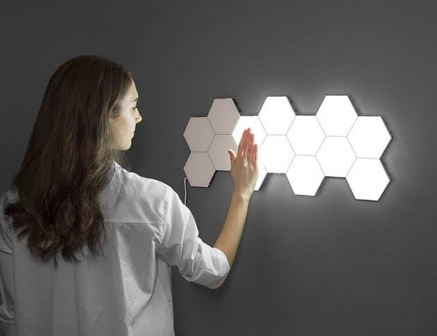 Attach a modern wall illumination to your home