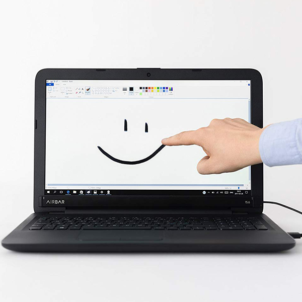 Airbar - Attach the Airbar to the screen of your laptop to make it touch screen.