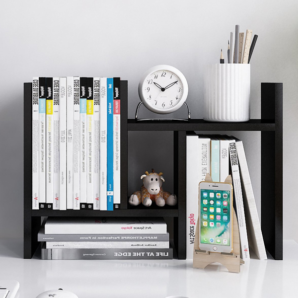 Stand Shelf - An orderly desk is a sign of an organised mind.