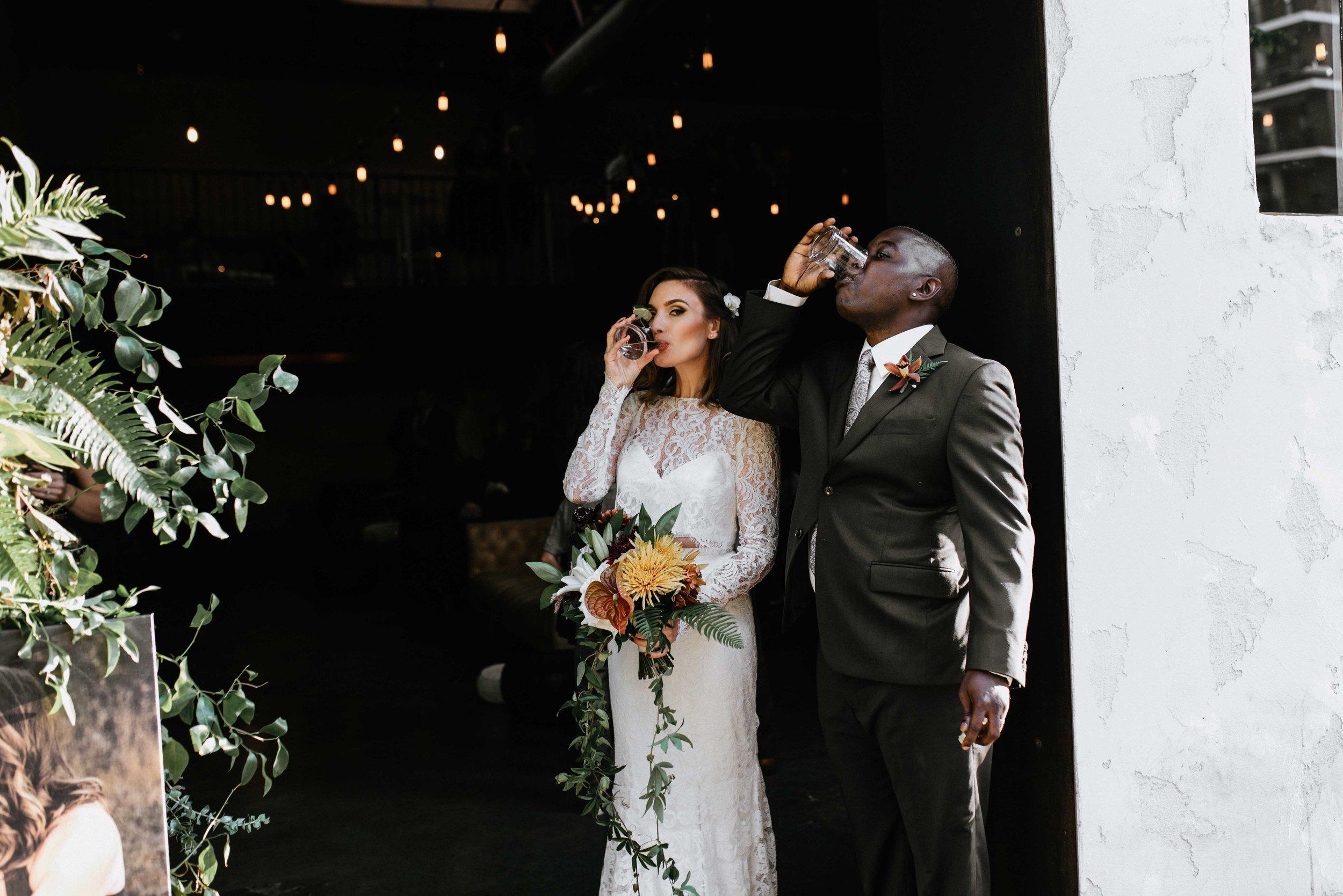 Intimate, Moody, Urban, San Diego, New Orleans, Wedding