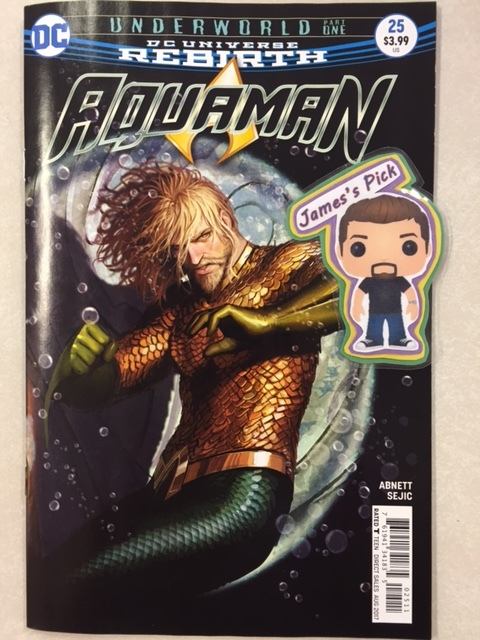 Aquaman #25 - James's Pick