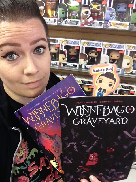 Winnebago Graveyard #4 (of 4) - Katie's PickMINI SERIES FINALE! The end is near. Christine fights to keep her family alive as Satanists attack.