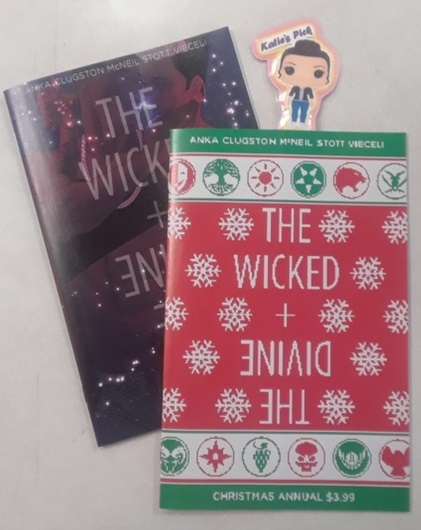 The Wicked + The Divine Christmas Annual #1 - Katie's PickJamie [McKelvie] (Young Avengers, Phonogram) said