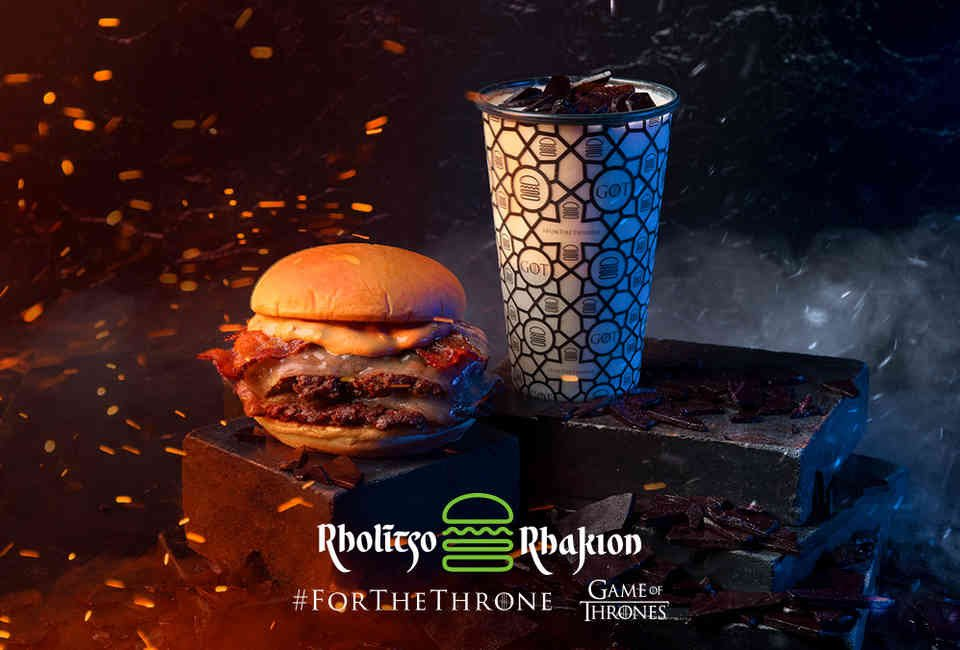 """In partnership with HBO and in anticipation of the premiere of the 8th and final season of Game of Thrones, Shake Shack launched a special  Game of Thrones  fiery burger   and Señor Lechuga hot sauce is the FIRE in the burger!    Shake Shack's executive chef (John Karangis) and head of culinary (Mark Rosati) crafted the burger in Shake Shack's Innovation Kitchen incorporating Señor Lechuga Hot Sauce .002 (Chipotle Salt Reapers) to provide the """"fire"""" in Shake Shack's biggest collaboration to date.    Of all burgers tested and all the hot sauces that could have been selected for this massive collaboration with these two powerhouse and esteemed brands, Señor Lechuga Hot Sauce was chosen.    The fiery burger was originally exclusively at NYC's Madison Square Park (along with the Game of Thrones Icy Dragonglass Milkshake for a complete Fire & Ice GoT concept), and could only be ordered if requested in Valyrian (the fictional GoT language). After a week at the single location, the secret menu rolled out nationwide, with the burger being offered at select Shake Shacks in top markets across the country.   The collaboration instantly went viral resulting in tons of press, with the burger getting phenomenal feedback and reviews."""
