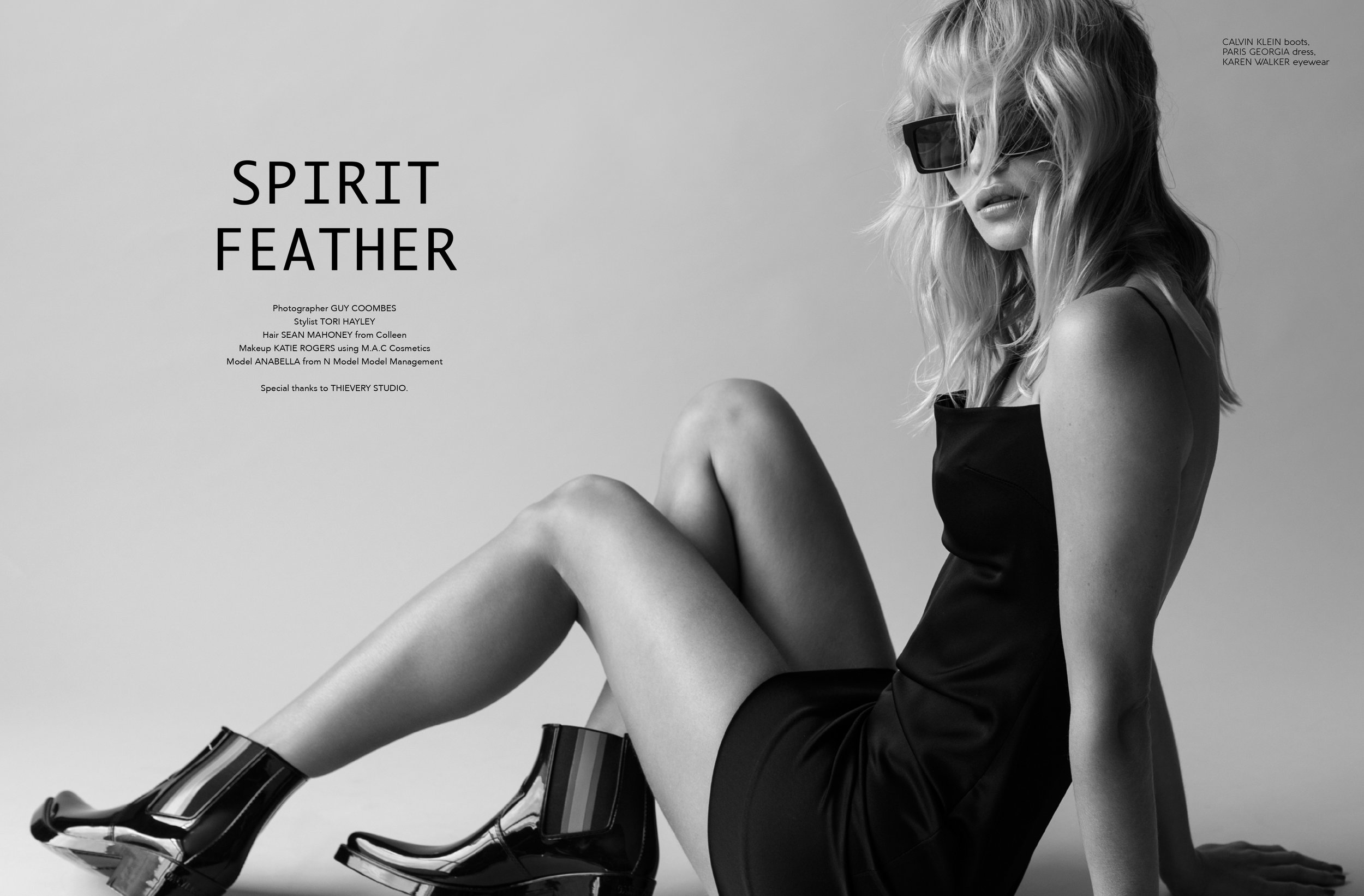 Spirit Feather - Remix Magazine