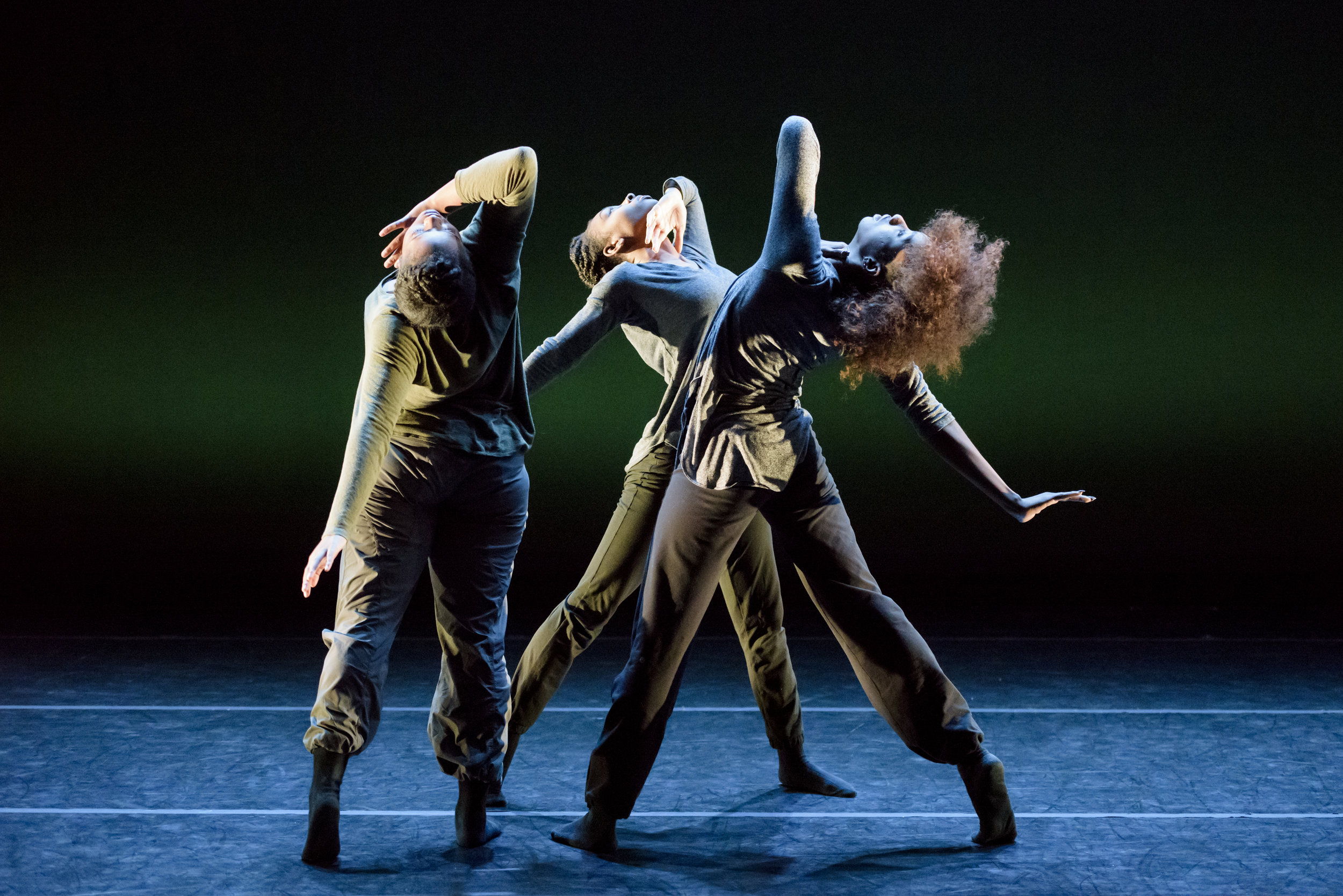 Choreography by Tarik OMeally     Pictured: Lateisha Melvin, Shanice Mason, and Tyesha Nance    Photo Credit: Marketa Ebert