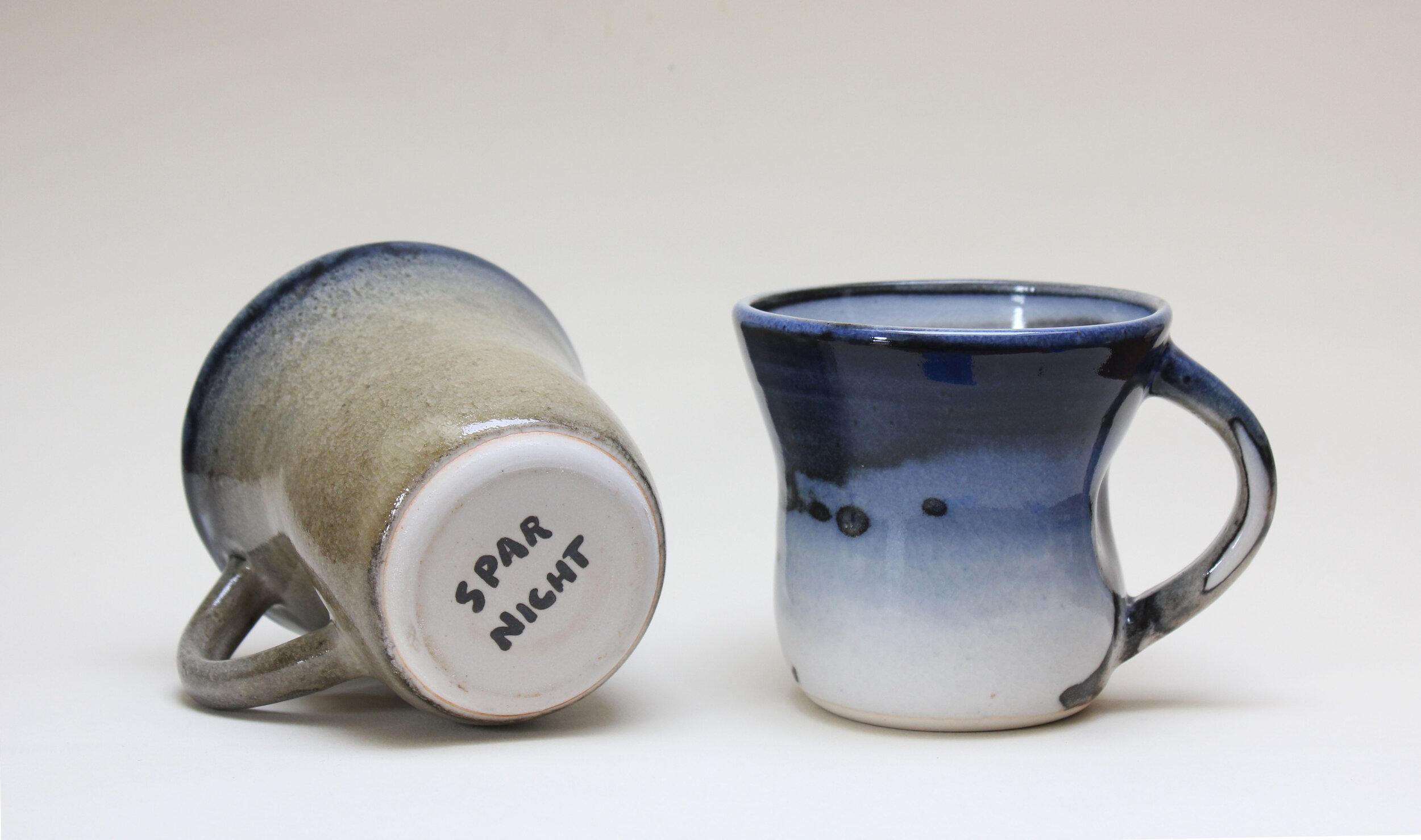 White Shino and Cobalt Mugs.jpg