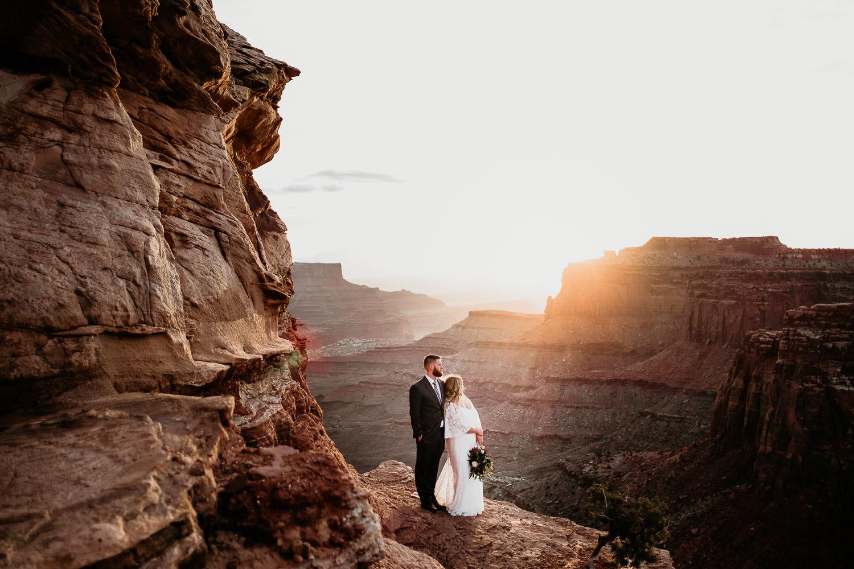 Moab Adventurous Elopement Wedding Photographer