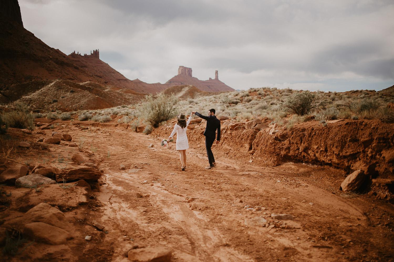 Moab, Utah Adventurous Elopement Photographer