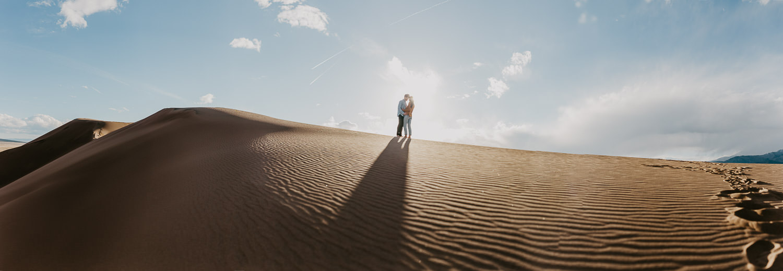 Panorama - Great Sand Dunes - Adventure Photography