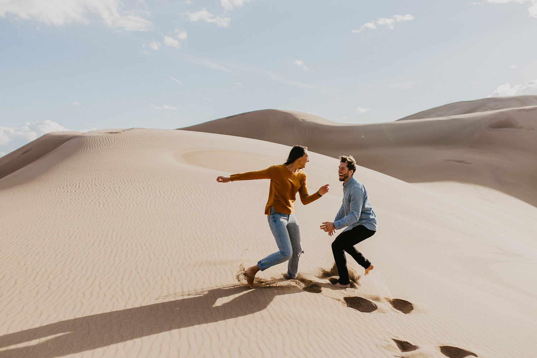 Adventure Elopement Photographer - Great Sand Dunes