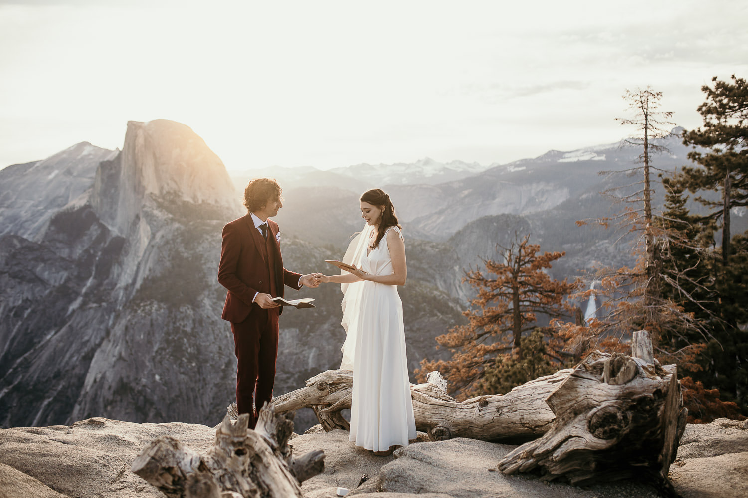 Yosemite Elopement Glacier Point