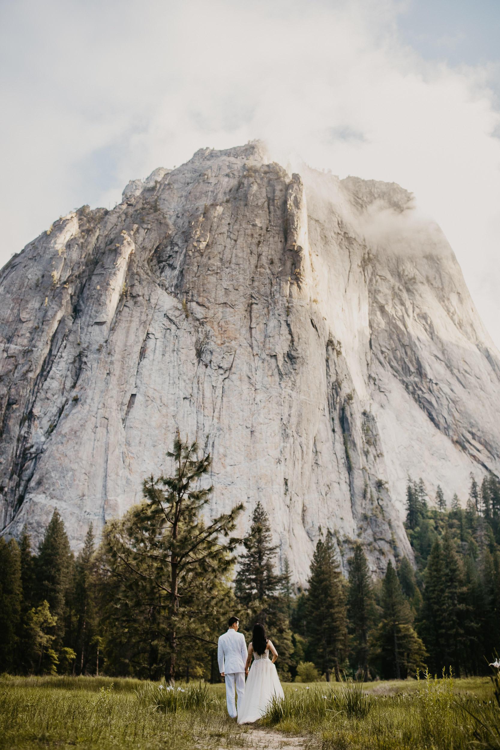 Cathedral Beach, Yosemite Intimate Ceremony