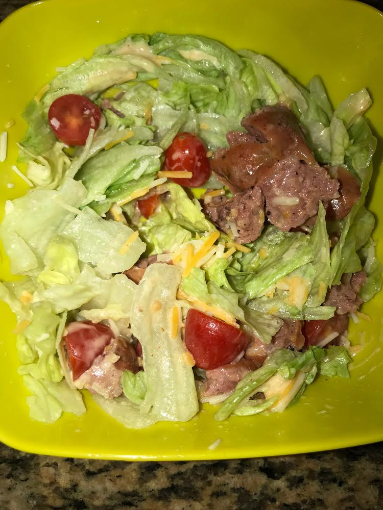 Sasage salad