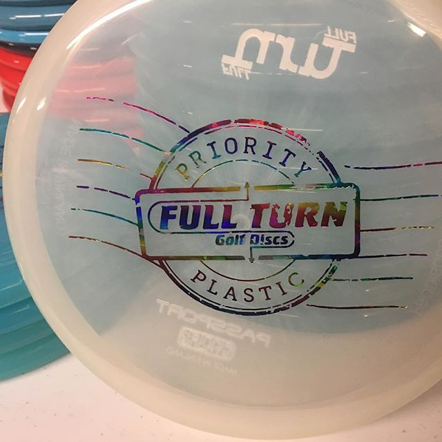 New stamp for the Priority Passport just hit the website with exact weights. Link in bio to get yours! #discgolf #discgolflife #discgolfgirls #fullturndiscs #ftd