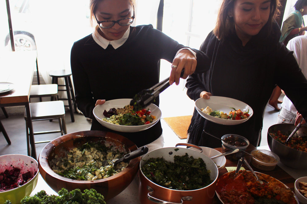 Our first AMAZING UnSchool style vegtable-centric lunch