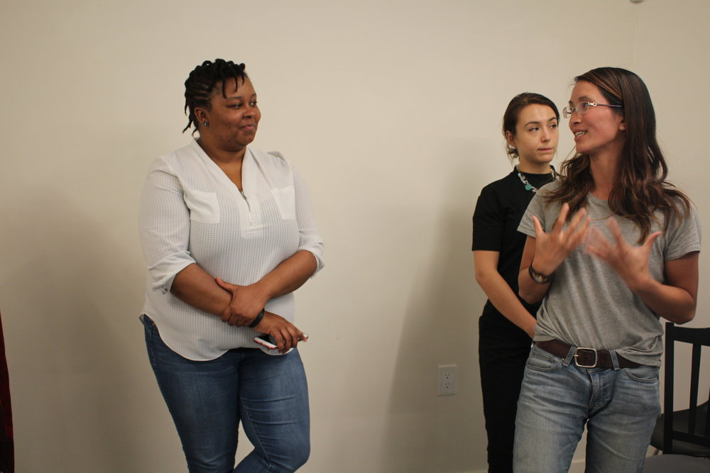 The incredible Antoinette Carol gave an awe inspiring and activating mentor session