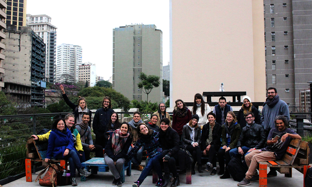 UnSchool Sao Paulo Fellows and team