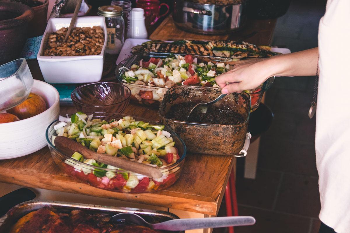 co project organic veg food