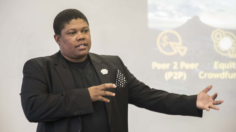 """Vuyisa Quabaka:  """"I work with inspired people"""""""